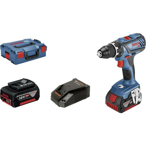 Perceuse-visseuse sans fil Bosch Professional GSR 18V-28 06019H4101 18 V 5 Ah Li-Ion + 2 batteries, + mallette 1 pc(s)