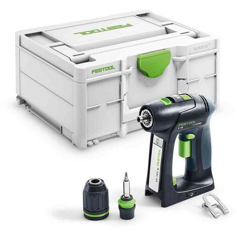 Perceuse-visseuse sans fil C 18-Basic - Festool - 576434