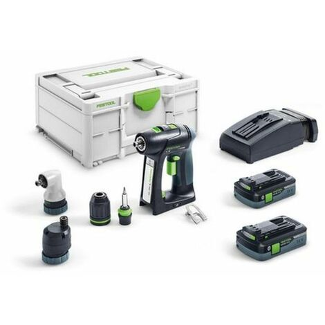Perceuse-visseuse sans fil C 18 Li 5,2-Set FESTOOL - 575672