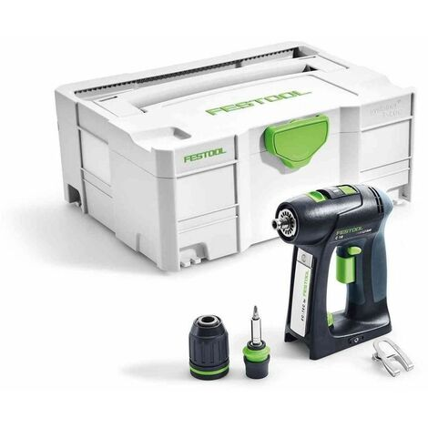 Perceuse-visseuse sans fil C18 Li-Basic FESTOOL