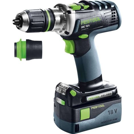 Perceuse-visseuse sans fil DRC 18/4 Li 5,2-Plus-SCA QUADRIVE - Festool