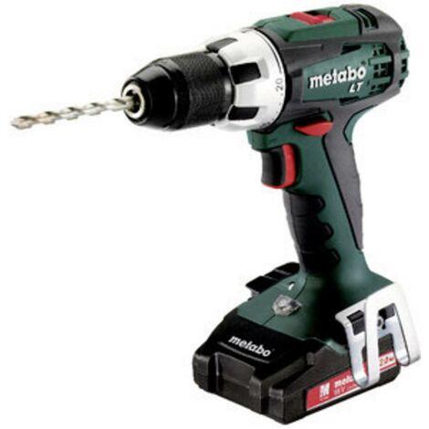 Perceuse-visseuse sans fil Metabo BS 18 LT Compact 602102530 LiHD + 2 batteries, + accessoires 1 pc(s)