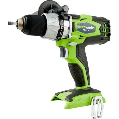Perceuse-visseuse Sur Batterie Greenworks 24v Sans Balais (sans Batterie Ni Chargeur) Greenworks Tools