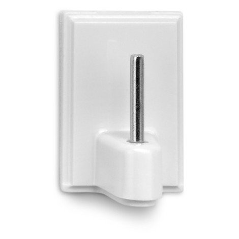 Percha Adhesiva Visillos Blanca Lote 4 - INOFIX - 2042-2