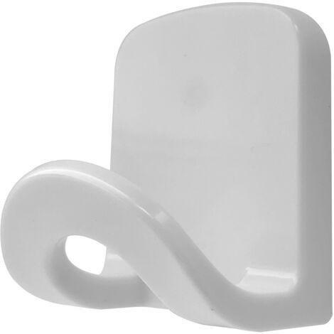 Percha grande plástica adhesiva multiusos (Köppels P4005B)