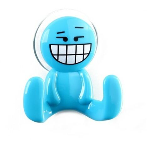 Percha Happy azul