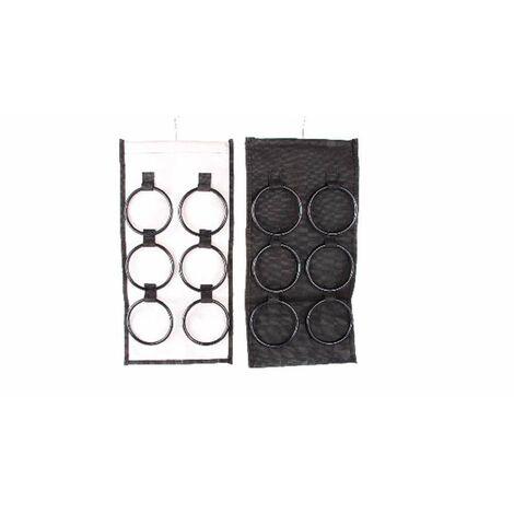 Percha para pañuelos (24x49) Negro