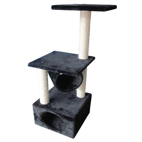 perche arbre chat de scratcher | chat classique Rodo scratcher | Grattoir avec le poteau et la grotte