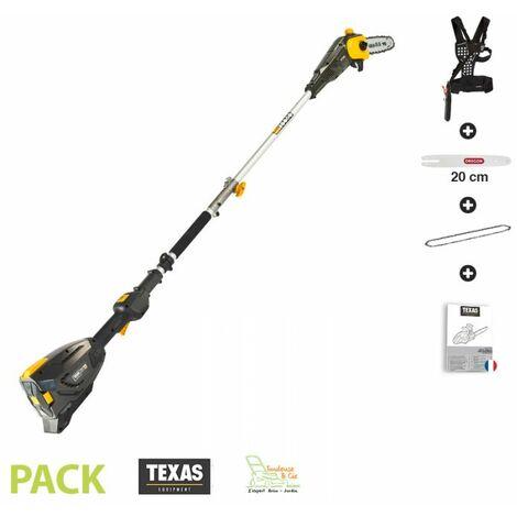 Perche élagueuse électrique guide Orgeon 20cm Texas PCZ5800 sans batterie ni chargeur