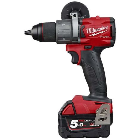 Percussion drill MILWAUKEE M18 FUEL FPD2-502X - 2 batteries 5.0 Ah - 1 charger - 4933464264