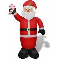 Père Noël gonflable 240 cm
