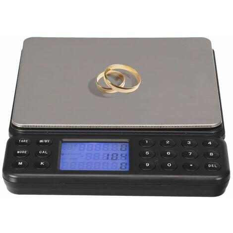 """main image of """"Perel Balance de comptage numérique 2 kg Gris"""""""