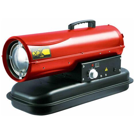 Perel Calefactor modelo Diesel 20 kW rojo FT120C