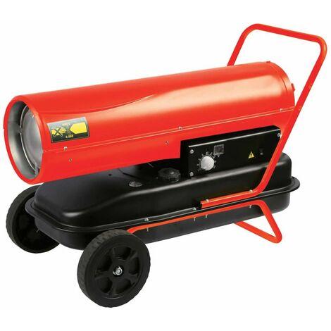 Perel Calefactor modelo Diesel 30 kW rojo FT130C