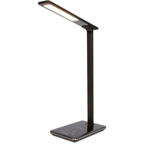 Perel LED Desk Lamp - Black
