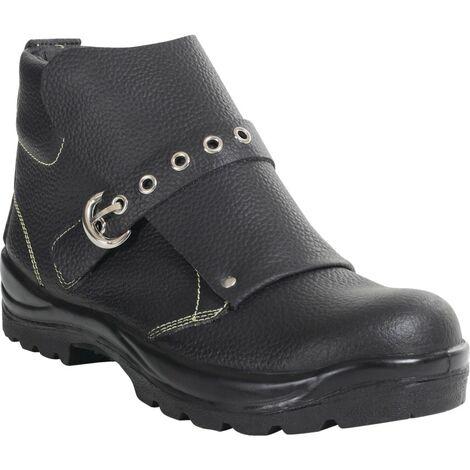 Perf PB21 Black Ankle Length Welders Boot SZ-12
