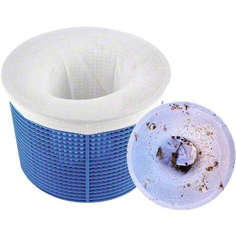 "main image of ""Perfect Filter Savers - Calcetines skimmer para piscina para proteger sus filtros, cestas y skimmers (paquete de 20)"""