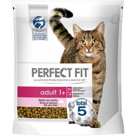 Perfect Fit Adult 1+ | Katzenfutter Trockenfutter Reich an Lachs 1,4kg