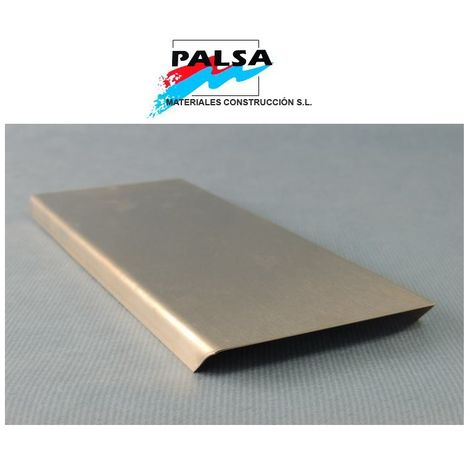 PERFIL ACERO INOXIDABLE BLOQUE PAVES