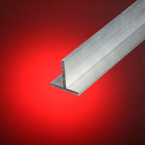 Perfil aluminio en t 25x25