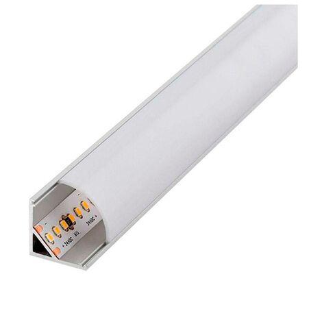 Perfil aluminio L 2m 12V/24V