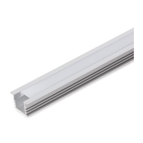 Perfíl Aluminio para Tira LED Difusor Opal 1M WR-2212 x 1M (WR-2212)