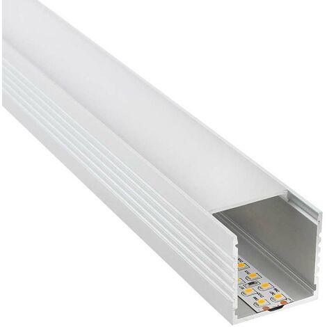 Perfil aluminio VART para tiras LED, 1.5 metros