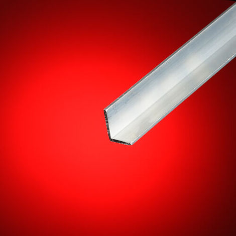 Perfil ángulo desigual aluminio 50x30