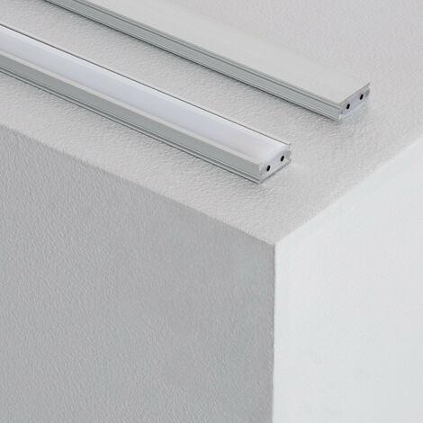 Perfil con Tira LED Aretha 1000mm 15W