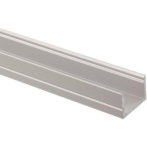 Perfil de Aluminio 1m para Tiras LED 220V AC Monocolor