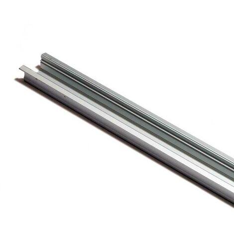 Perfil de aluminio para tira LED empotrable 23x15mm (2 metros)