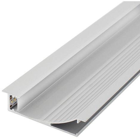 Perfil de aluminio SwinSuit para empotrar 12/24V 2 metro