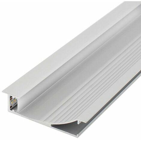 Perfil de Aluminio SwinSuit para Empotrar 12/24V 2 metros | IluminaShop