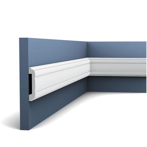 Perfil de estuco Moldura Cornisa Orac Decor PX102 AXXENT Elemento decorativo para pared y techo 2 m