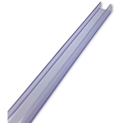 Perfil de PVC para Tiras LED 220VAC SMD5050 60LED/m 2 metros Transparente | IluminaShop