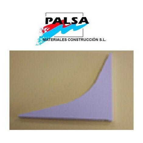 PERFIL ESCOCIA 100 mm PVC 2 PIEZAS