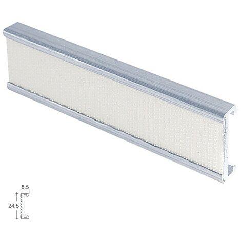 "main image of ""Perfil Estor Velcro P-909 3,0mt Plata"""