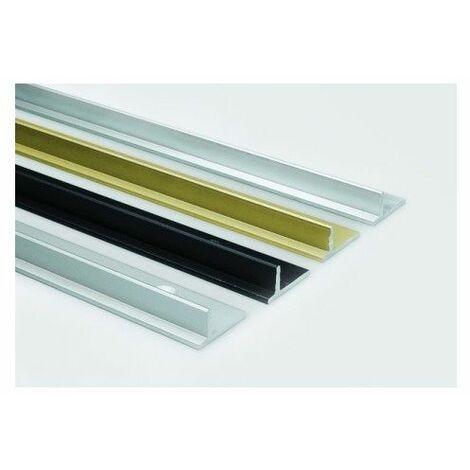 Perfil Puerta Corredera 2Mt Aluminio Ne Roll 25/45 3183 2 Mt