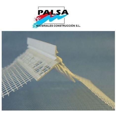 PERFIL PVC GOTERON CON MALLA FIBRA VIDRIO