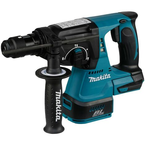 Perfo-burineur MAKITA SDS-Plus 18V Li-Ion 24 mm - Sans batterie, ni chargeur - DHR243ZJ