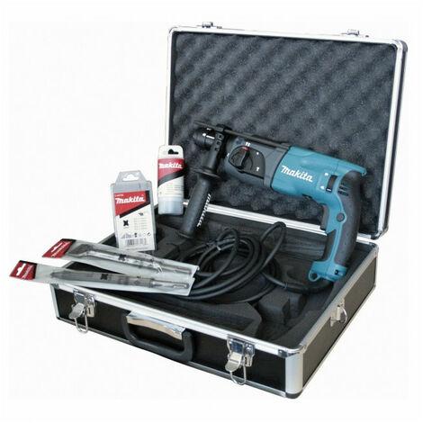 Perfo-burineur SDS-Plus 780W + kit d'accessoires HR2470TX1 MAKITA