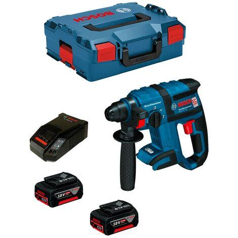 Perforateur BOSCH GBH 18 V-EC (2 x 4,0 Ah AL1860CV L-Boxx 136)