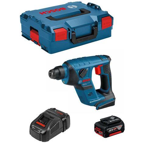 Perforateur BOSCH GBH 18 V-LI Compact (1 x 4,0 Ah GAL1880CV L-Boxx 136)