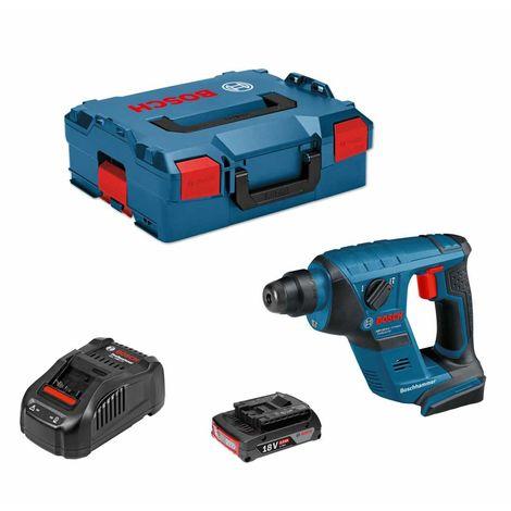 Perforateur BOSCH GBH 18V-LI Compact (1 x 2,0 Ah GAL1880CVL-Boxx 136)