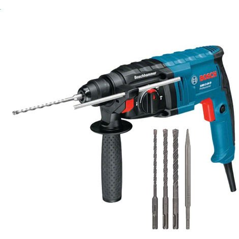 Perforateur BOSCH GBH 2-20 D - 650W SDS-plus - 3 forets + burin + coffret - 061125A403