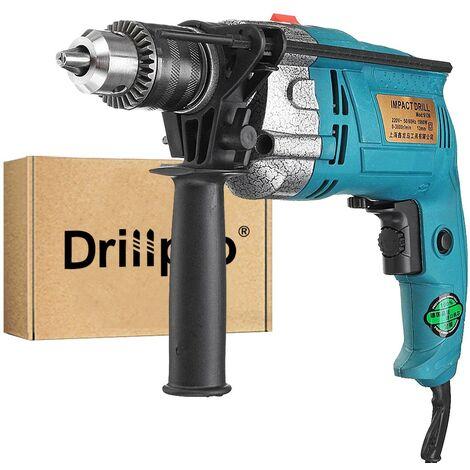 Perforateur Burineur 220V 1980W 3800RPM électrique Perceuse Visseuse