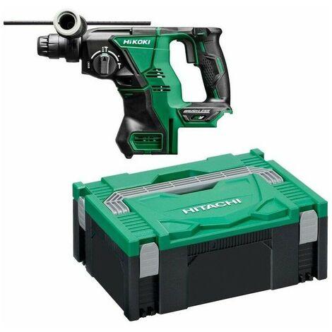 Perforateur Burineur Brushless 28 mm SDS Plus Multi Volt 36V Li-ion Hitachi-Hikoki - sans batterie ni chargeur