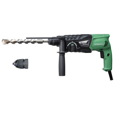 Perforateur-burineur HITACHI - HIKOKI 730W 24MM SDS+ 2.7J - DH24PH en coffret