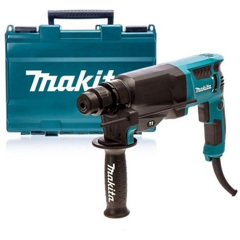 Perforateur burineur MAKITA SDS-Plus 800W Ø26mm - En coffret - HR2630