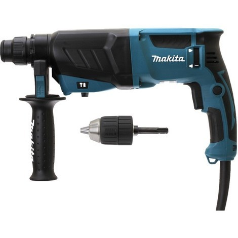 Perforateur burineur MAKITA SDS-Plus - 800W avec mandrin autoserrant - HR2630X7